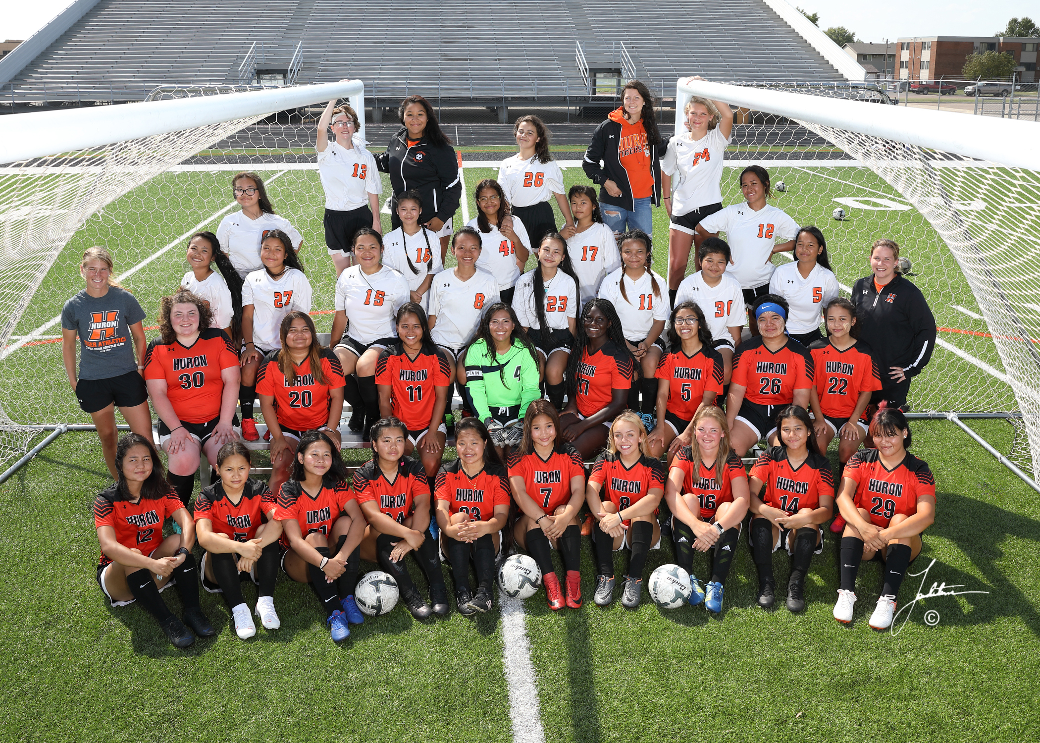 Huron High School - Varsity Girls Soccer.jpg